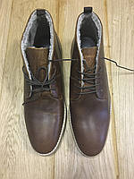 Ботинки ASOS Desert Boots in Tan Leather, фото 1