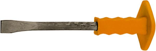 Зубило, 300 х 25 мм, с протектором, MASTER// SPARTA