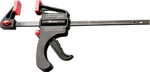 Струбцина универсальная F-образная, 150 х 265 х 45 мм, пластмассовый корпус// MTX