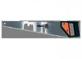 Ножовка по дереву, 400 мм,5-6 TPI(крупный зуб), каленый зуб, линейка,, пластиковая рукоятка// SPARTA