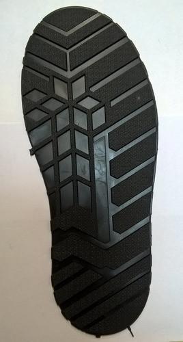Подошва (след обуви) мужская цвет черный