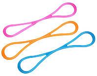 Еспандер Ridni Relax силіконовий легкий рожевий (довжина 49см)