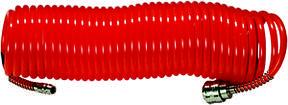 Шланг спиральный воздушный, 5 м, с быстросъемными соединениями// MTX