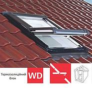 Мансардне вікно Roto Designo R45 (ПВХ)(з термоізоляційним блоком WD)