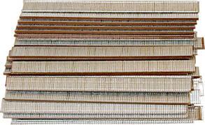 Гвозди для пнев. нейлера, длина - 20 мм, ширина - 1,25 мм, толщина - 1 мм, 5000 шт.// MTX