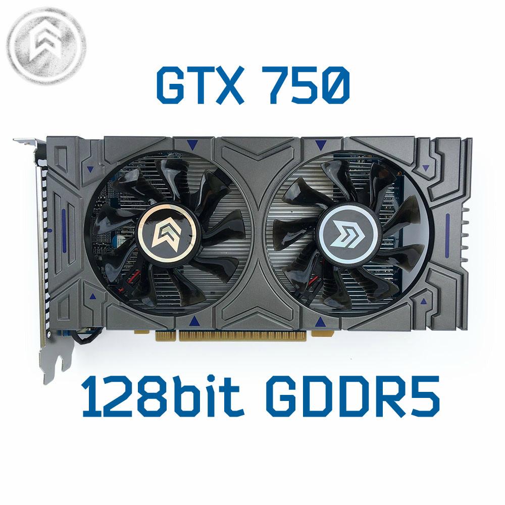 Видео карта NVIDIA GeForce GTX 750, 128Bit, GDDR5, 1GB!