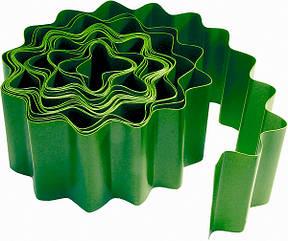 Бордюр садовый, 10 х 900 см, зелёный// PALISAD