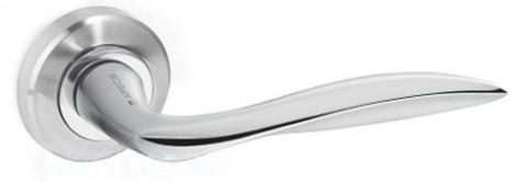 Ручка на розетке APECS H-0479-A-NIS/NI-UA никель матовый/никель (Китай)