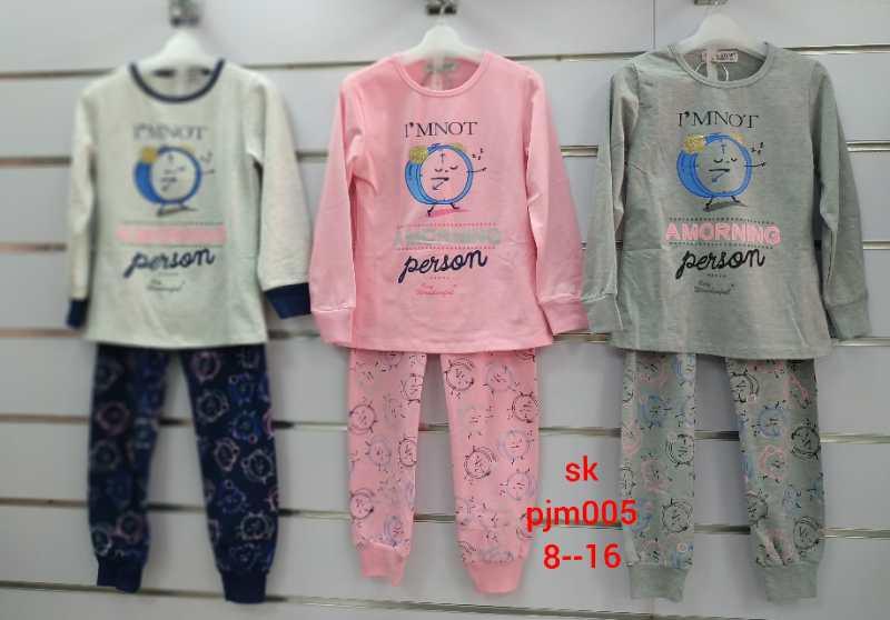 Пижамы для девочки опт, Setty Koop, размеры 8-16 лет, арт. PJM005