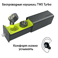 Беспроводные наушники TWS Sport T, фото 1