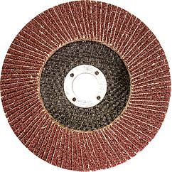Круг лепестковый торцевой, P 60, 115 х 22,2 мм//MTX