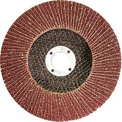 Круг лепестковый торцевой, P 25, 115 х 22,2 мм//MTX