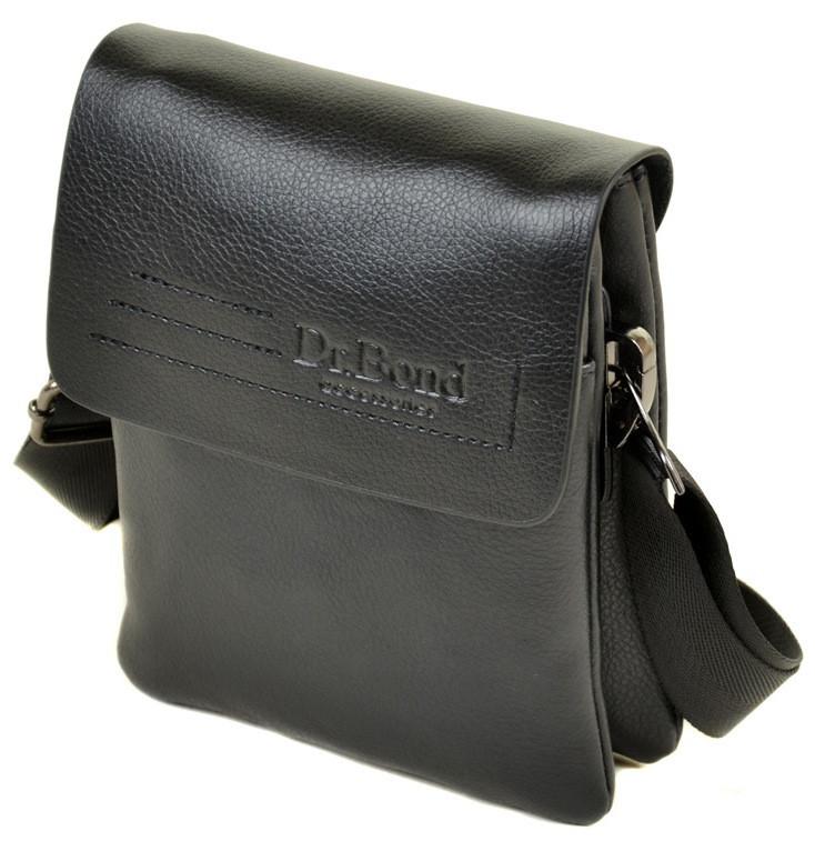 Мужская кожаная сумка планшет Dr.Bond маленькая  продажа, цена в ... 0d58eeabab3