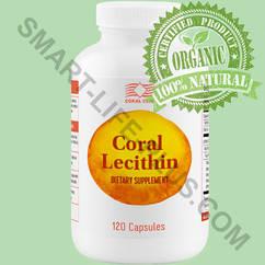 """Лецитин -""""Корал Лецитин""""  - гепатопротектор , улучшает отток желчи,укрепляет память."""
