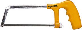 Ножовка по металлу, 150 мм, пластмассовая ручка, хромированная// SPARTA