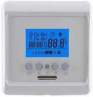 Терморегулятор для теплого пола RTC TD 16 E программируемый встраиваемый