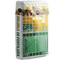 Удобрение ГроГрин Баланс (20-20-20) (GroGreen NPK Balansed), 25 кг, NPK