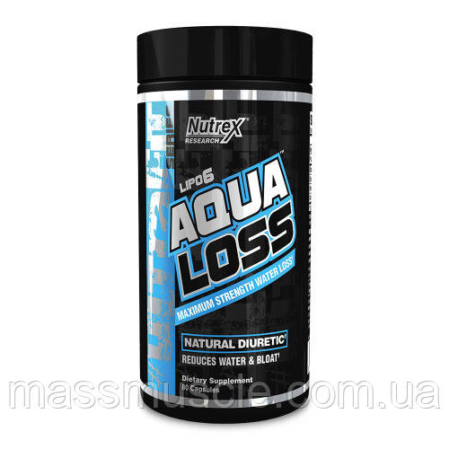 Жиросжигатель Nutrex Lipo-6 Aqua Loss 80 caps