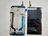 Дисплей для Lenovo A7010 Vibe X3 Lite/Vibe K4 Note с тачскрином и рамкой черный Оригинал