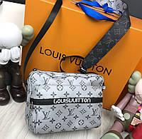 9ea8ea14f6dc Сумка мужская женская через плечо люкс копия брендовая Louis Vuitton копия  высокого качества