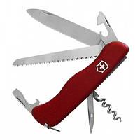 Нож Складной Мультитул Викторинок Victorinox RUCKSACK (111мм, 12 функций), красный 0.8863