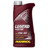 Моторное масло Mannol Legend+Ester SL/CF SAE 0W-40 (1л.)