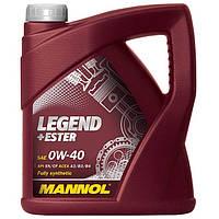 Моторное масло Mannol Legend+Ester SL/CF SAE 0W-40 (4л.)