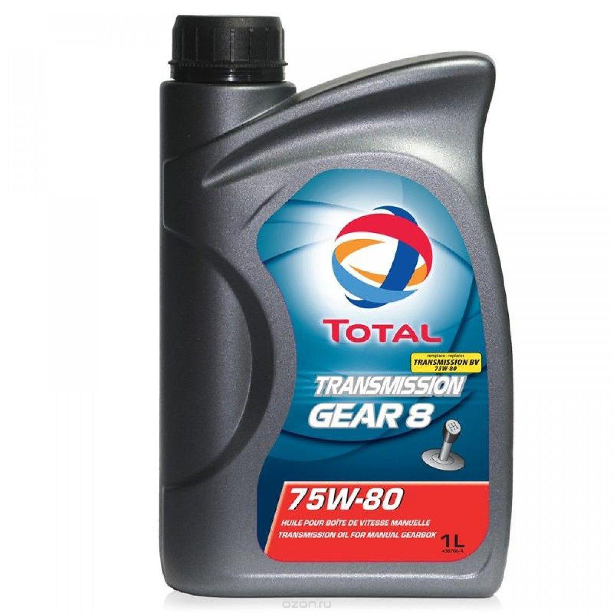 Total Transmission Gear 8 75W-80 1л