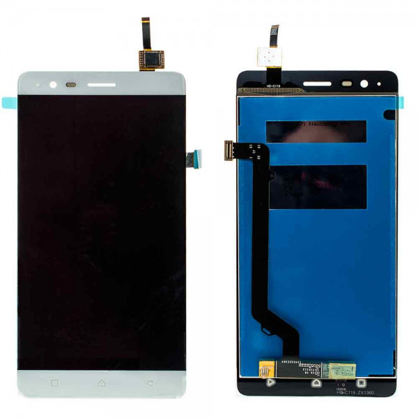 Дисплей для Lenovo A7020 Vibe K5 Note (A7020a40)/A7020a48 Vibe K5 Note Pro с тачскрином белый Оригинал
