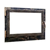 Дверь камина НСК Ветка 600*650