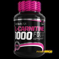 L-carnitine 1000 BioTech USA 60 табл (60 порций)