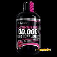 L-carnitine 100.000 BioTech USA 500 мл (50 порций) вишня