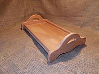 Поднос деревянный на ножках