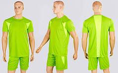 Футбольная форма Absolut CO-1003-LG (PL, р-р M-XL-44-48, рост 165-175см, салатовый, шорты салатовые)