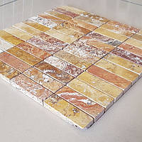 Декоративная мозаика  Антико из травертина, лист 1х30,5х30,5, фото 1