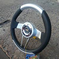 Руль автомобильный №581 (серый)., фото 1