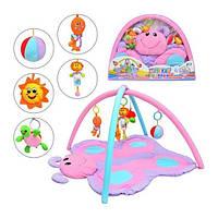 Развивающий коврик Бабочка  898-11В для новорождённых