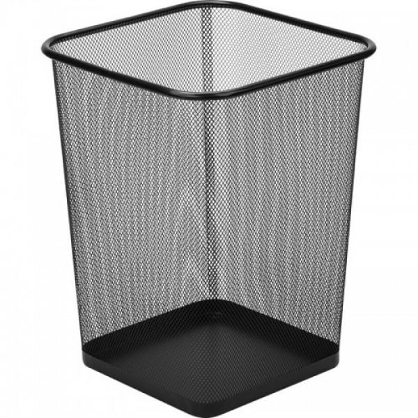 Офисная корзина для бумаги и мусора (квадратная б.)
