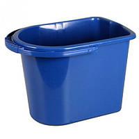 """Пластиковое ведро """"Алеана"""", овальное, 14 литров"""