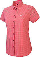 Рубашка женская Salewa Puez Mini Check Dry Wmn (2017), M красный 1894