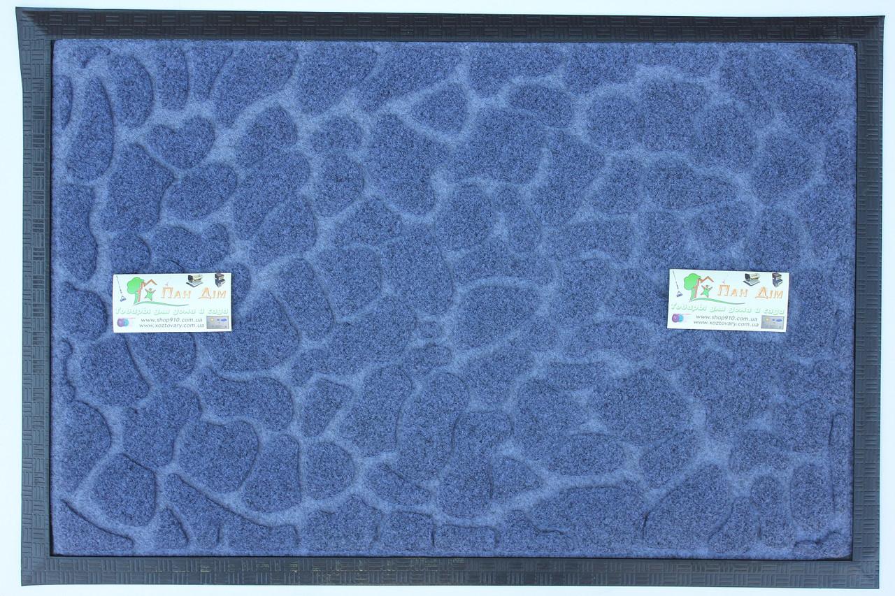 Придверный коврик на резиновой основе 40*60 КВ-0527