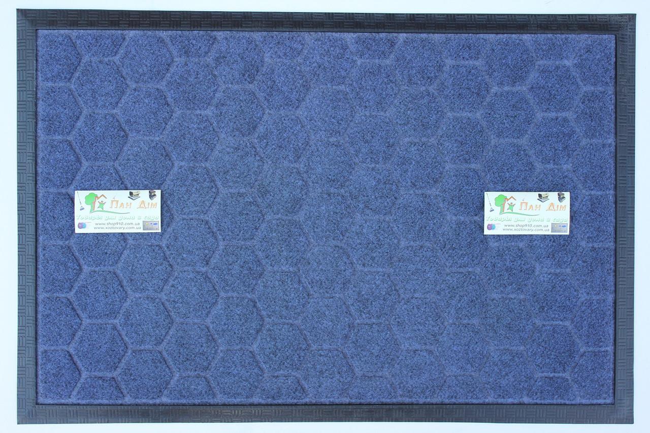 Придверный коврик на резиновой основе 40*60 КВ-0528