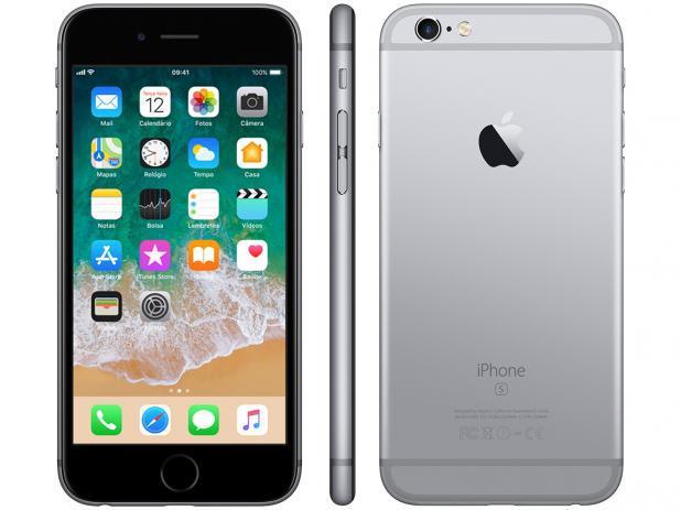 Apple iPhone 6S 64GB Space Grey Neverlock как новый, фото 1