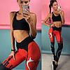 Женские гипоаллергенные фитнес лосины или топ , в расцветках. ЛД-14-0718, фото 9