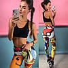 Женские гипоаллергенные фитнес лосины или топ , в расцветках. ЛД-14-0718, фото 5