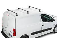 Багажник на крышу для VOLKSWAGEN Фольксваген VW Caddy Maxi (07-11), 3 поперечины,сталь
