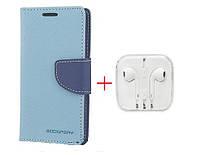 Чехол книжка Goospery  HTC Desire 820G + наушники Apple iPhone (в комплекте). Подарок!!!