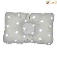 Ортопедическая подушка для новорожденных (дизайн 12)