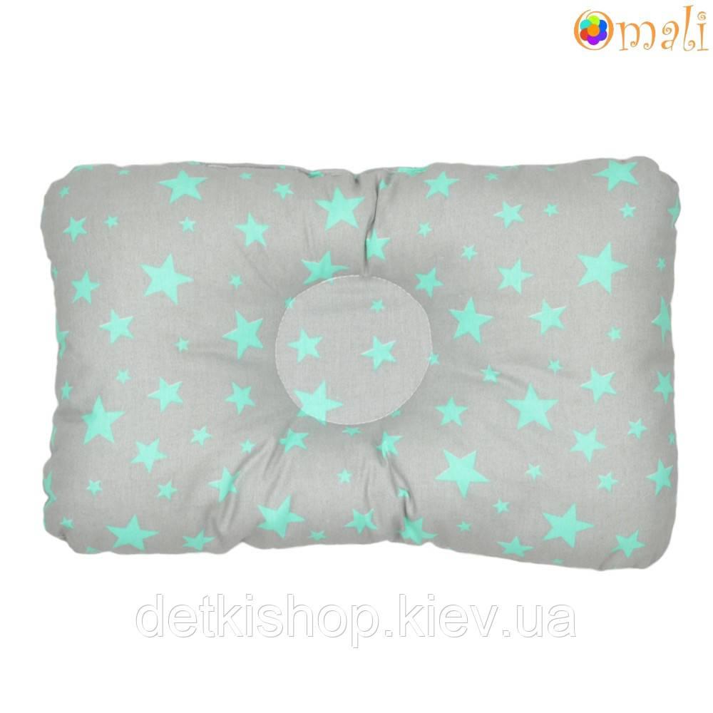 Ортопедическая подушка для новорожденных (дизайн 13)
