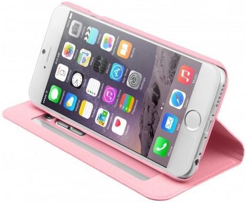 Чехол-книжка для iPhone 6/6s Laut Apex Mirror Pink (LAUT_IP6_FOM_P)
